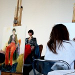 Portraiture Class with Sandy Moffat 2015