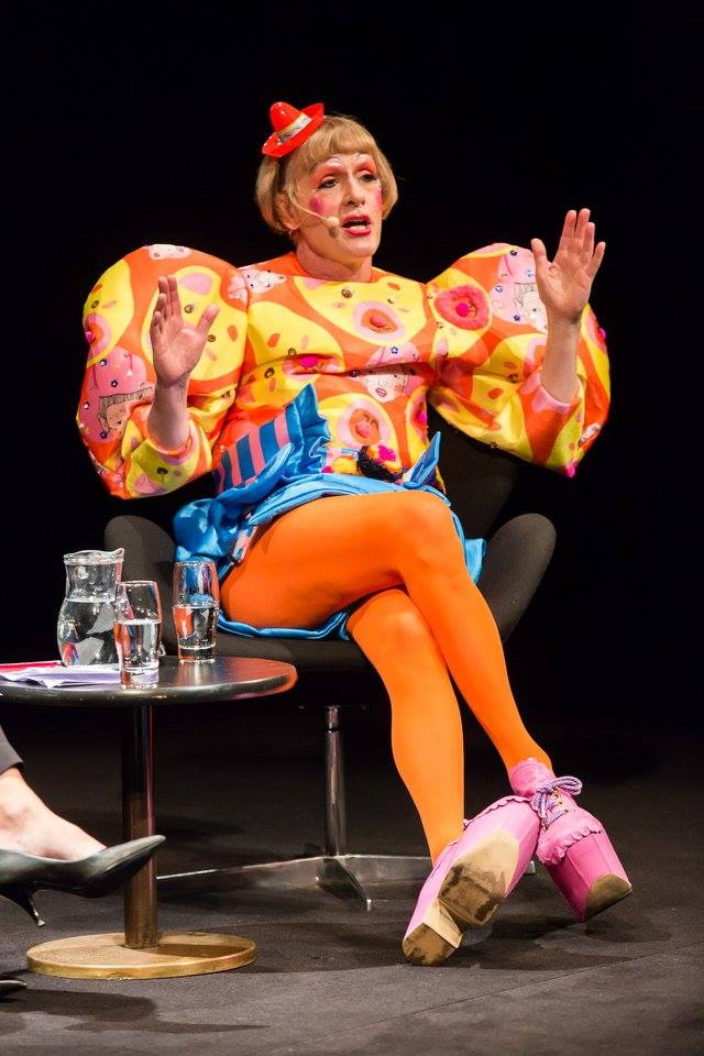 GRAYSON PERRY Why I am not a Painter March 1st 2016 (Image courtesy of Curtis Brown)