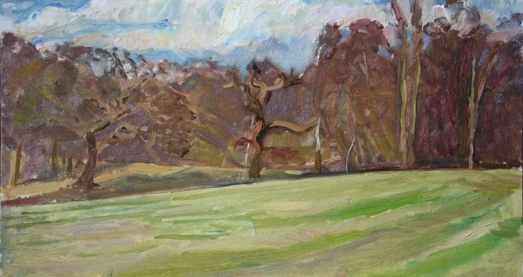 Painting Hampstead Heath with David Caldwell 24 June to 16 July 2016