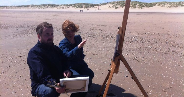 Painting the sea with Lesley Burr 11- 12 June 2016