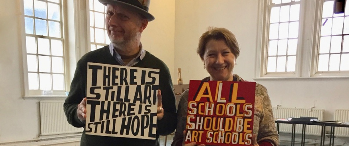 The Bigger Picture with Bob and Roberta Smith: Tuesdays, 26 Sept 2017 – 3 July 2018