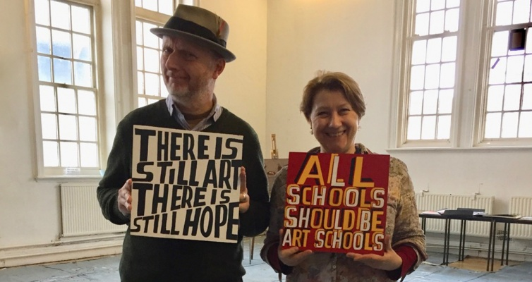 The Bigger Picture with Bob and Roberta Smith: Sept 2017 – July 2018