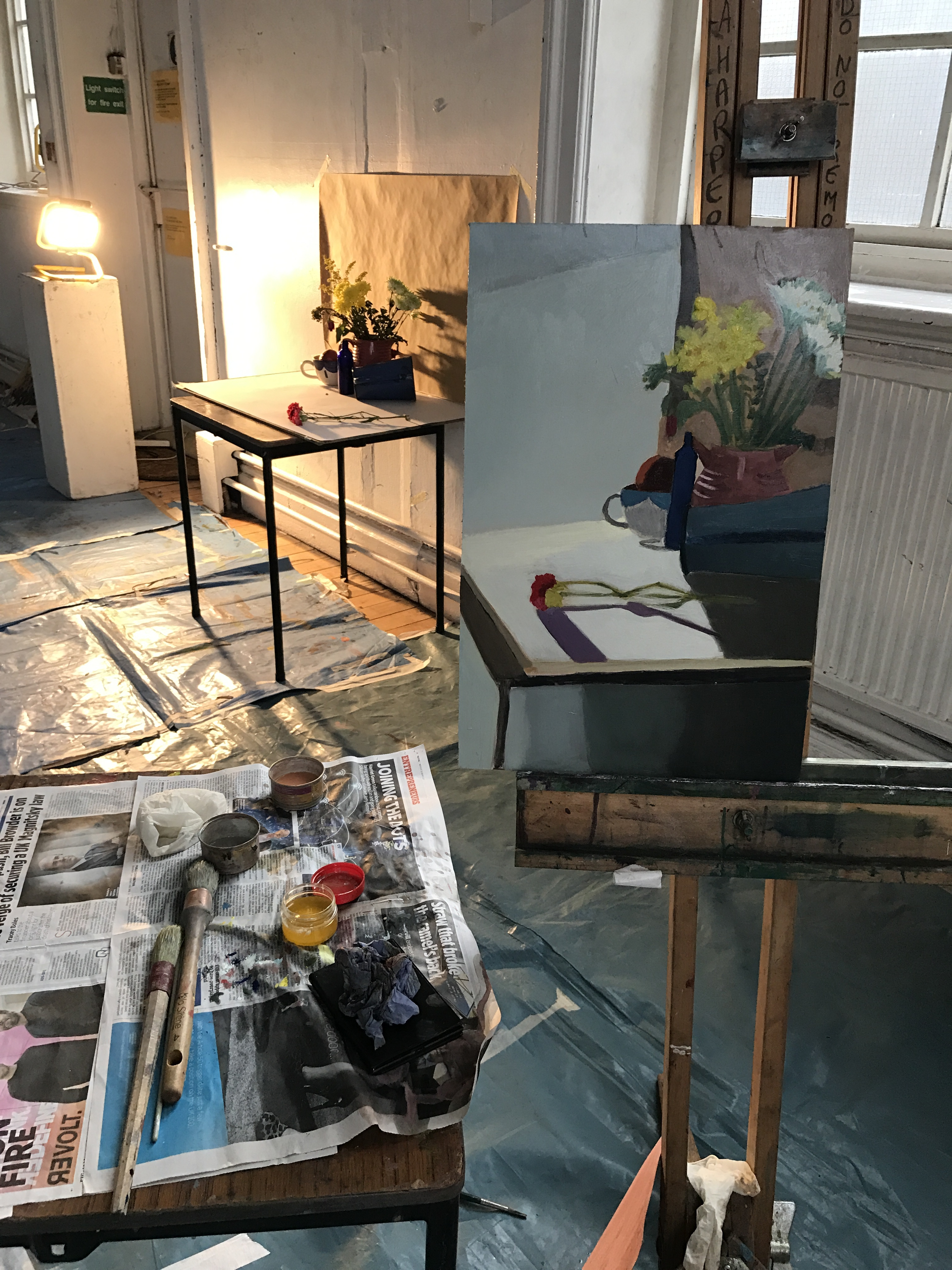 Monday Evening Oil Painting for beginners with Alison Harper – Apr 29 - 15  July 2019
